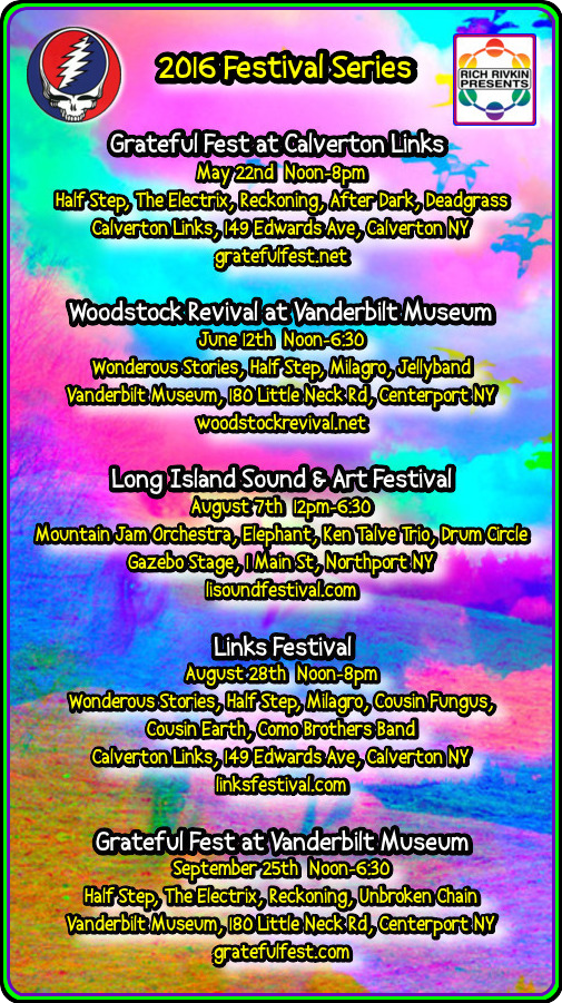 2016 Festival 5 Events GD