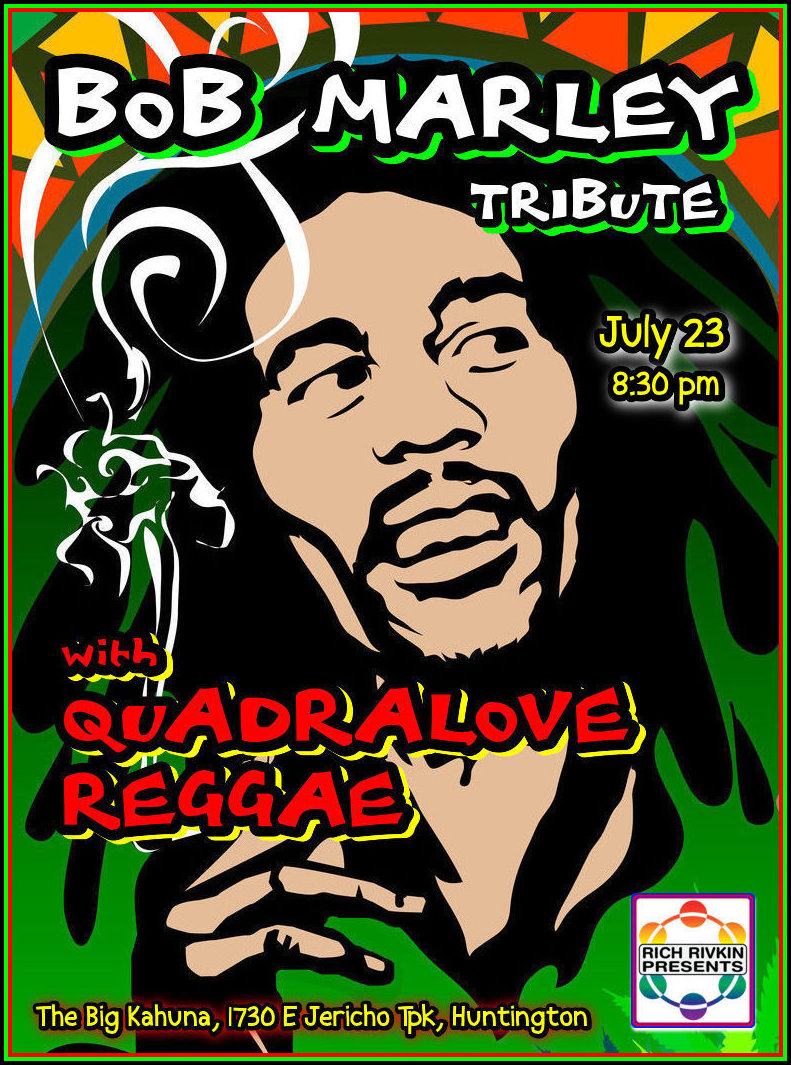 bob marley tribute flyer july 2016