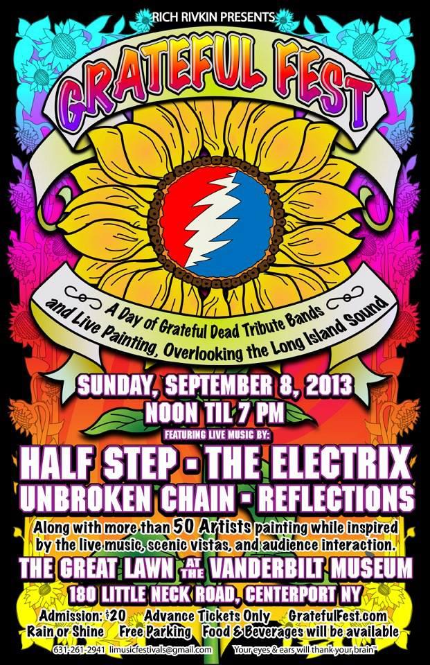 grateful fest 2013 poster