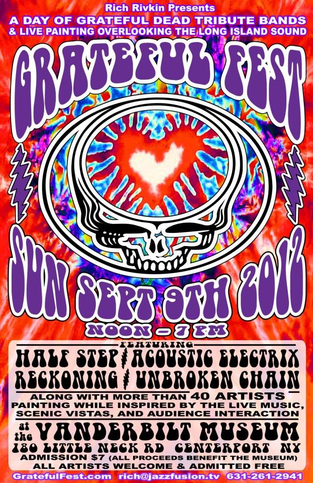 grateful fest poster first one