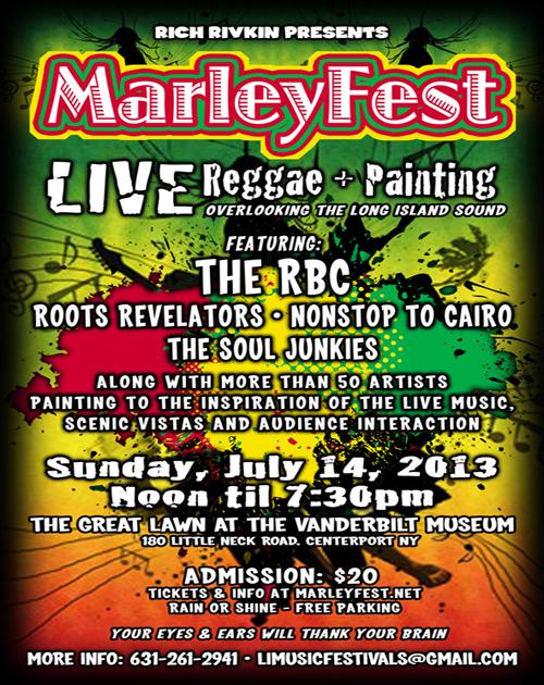 marleyfest poster