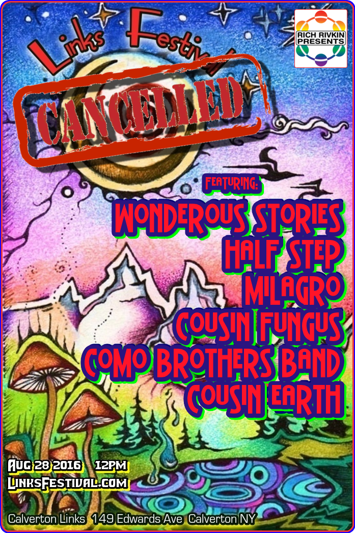 links canceled poster